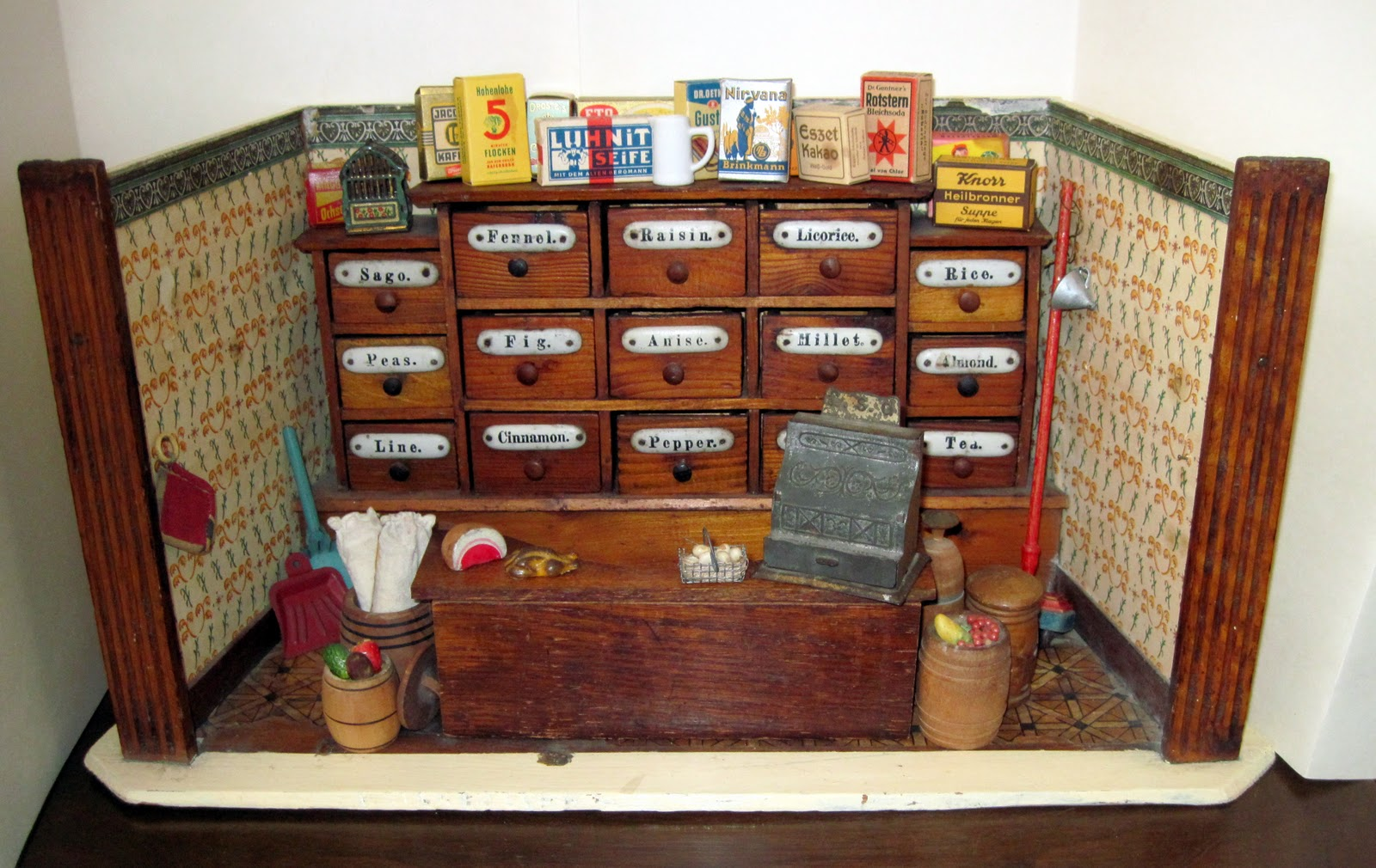Tracy 39 S Toys And Some Other Stuff Antique German Dollhouse General Store