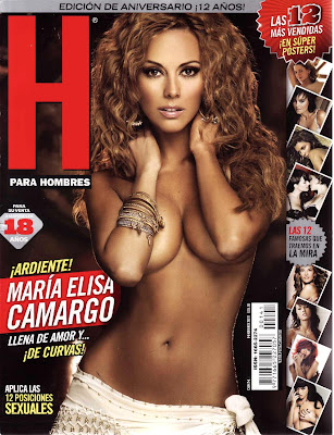 Maria Elisa Camargo Revista H Febrero 2011 [FOTOS] 6