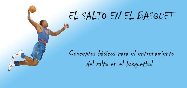 EL SALTO EN EL BASQUETBOL