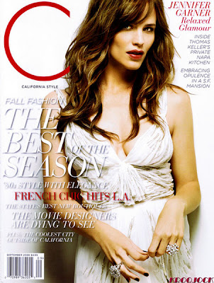 Jennifer Garner California Style Cover September 2009