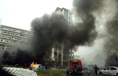 3 police killed in Chechnya suicide bombing