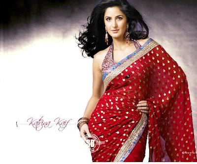 Katrina kaif New sari