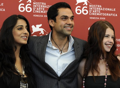 Dev D team at Venice Film Festival