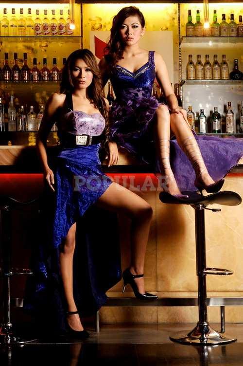 Foto Hot Mahadewi di Majalah Popular Online
