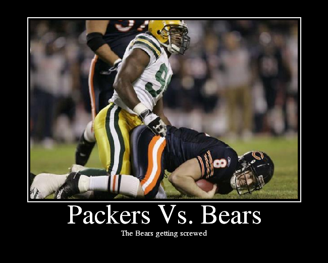 Bears Packers