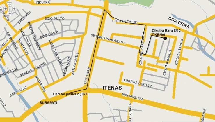 Nge-Kost di Bandung | Infonya Kost-Kos-an: Info Kos-Kost an Bandung ...