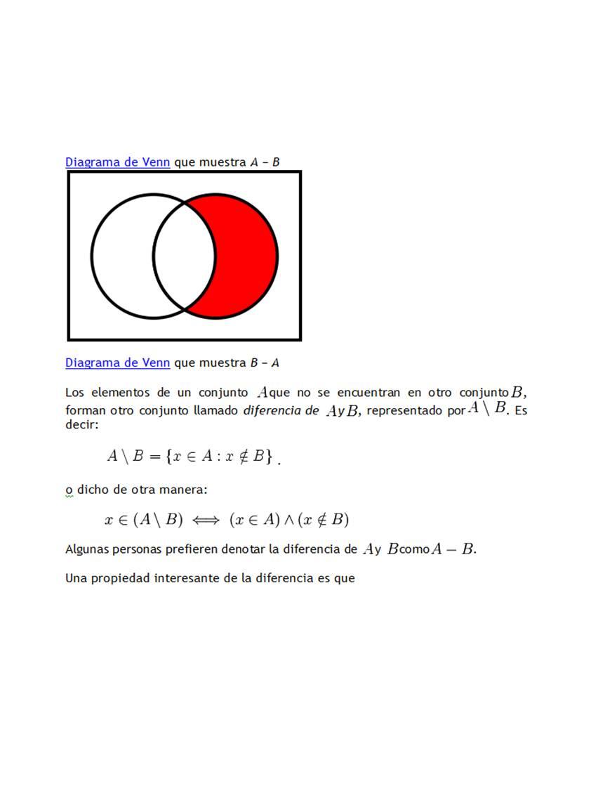 Teora de conjuntos teora de conjuntos es claro que el hecho de que un elemento x pertenezca a aub es condicin necesaria y suficiente para afirmar que x es un elemento de a o al menos de b es ccuart Choice Image