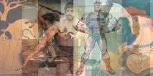 Hércules era filho de Zeus e Alcmena...