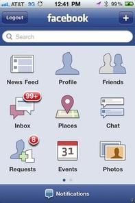 Facebook Places for BlackBerry img