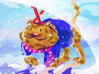 snowleo kommt