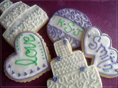 More Sugar Cookies…Wedding Style