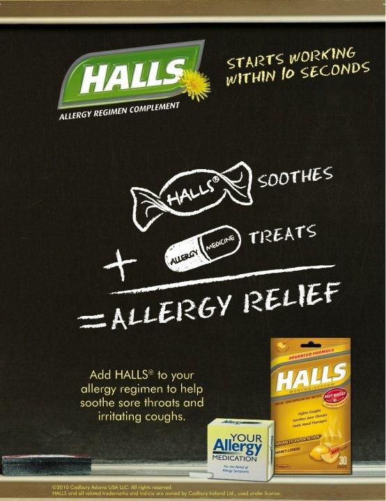 Halls Cough Drops. Did you know Halls Cough Drops