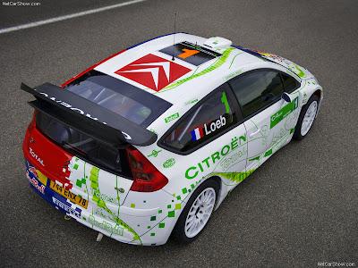 Citroen C4 Wrc. 2008 Citroen C4 WRC HYmotion4