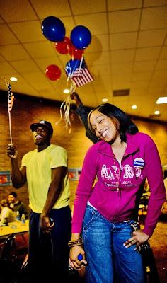 Barack Obama wins