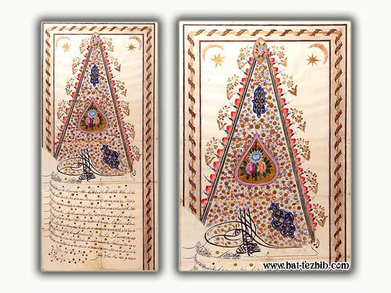 III.AHMET DİVANİ FERMAN (ORİJİNAL)