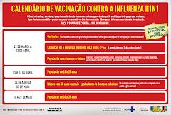 Vacinação Contra a Influenza H1N1