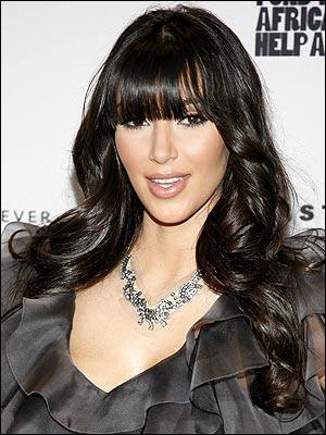 kim kardashian hairstyles. Kim Kardashian Hairstyles