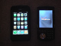 iPhone vs. Windows Mobile Samsung i760
