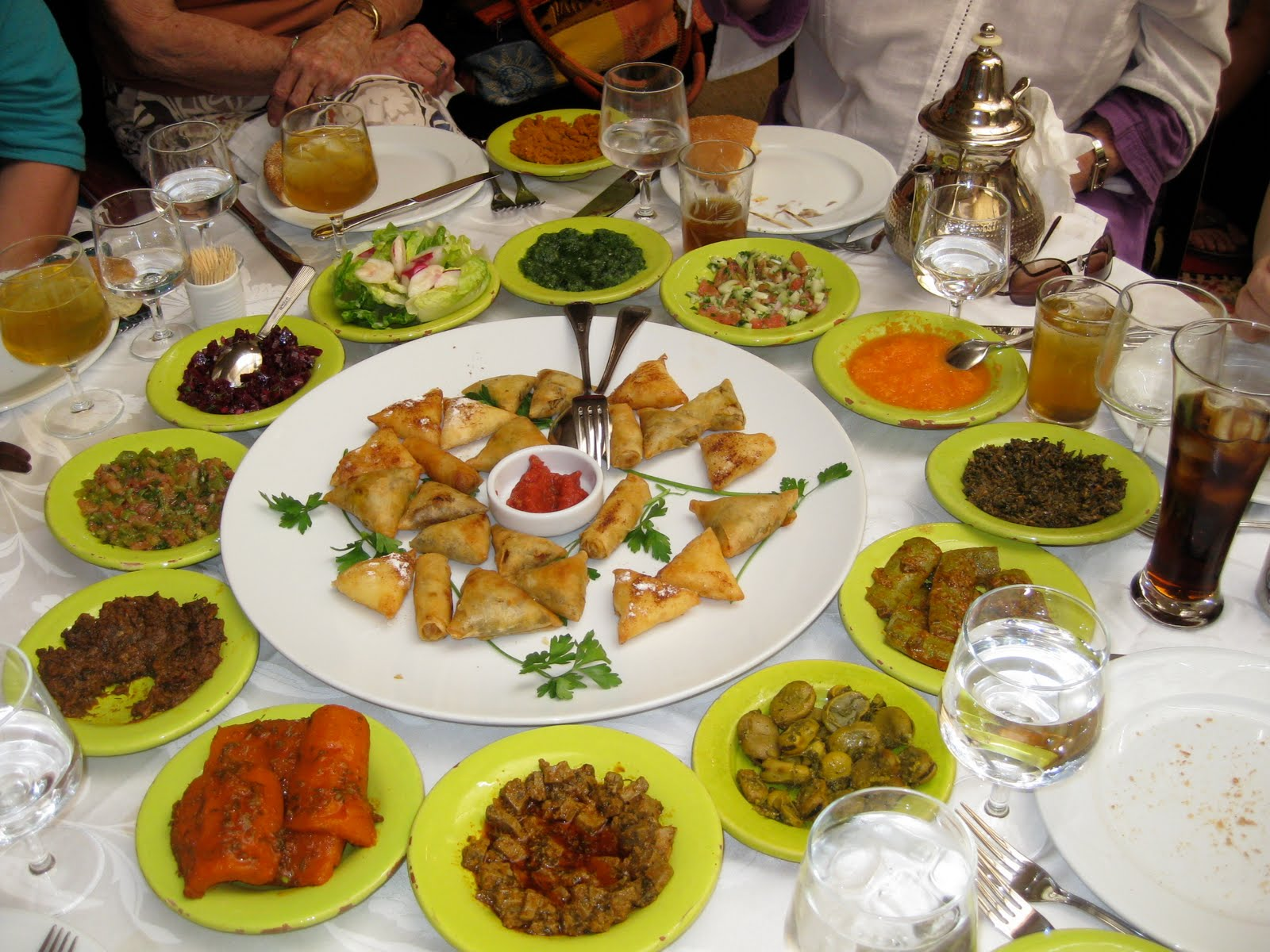 Flavors of the sun moroccan restaurant food for Cuisine culture