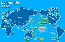 La Polynésie, c'est où?