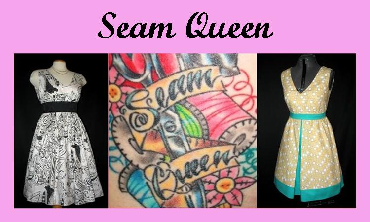I am the Seam Queen