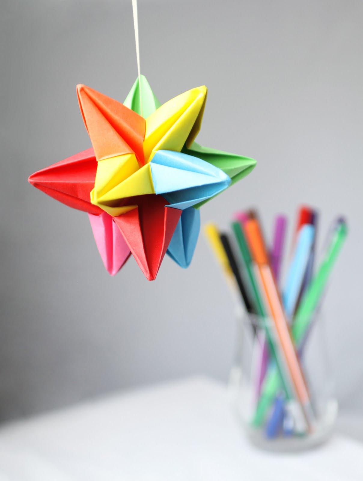 Almac n de lou origami - Origami de una estrella ...