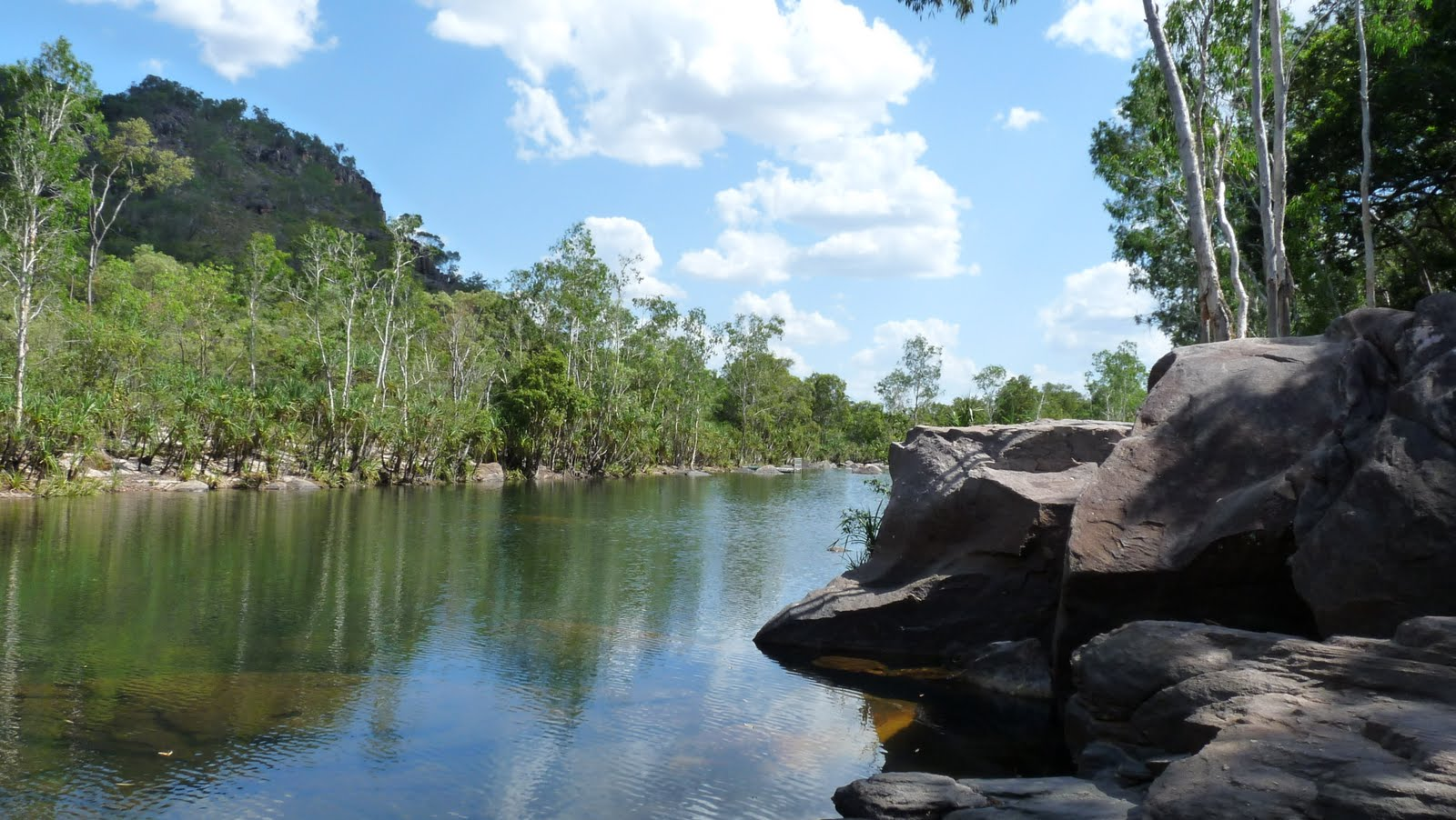 Garry and rani appleby jim jim falls kakadu national park nt for Appleby swimming pool timetable