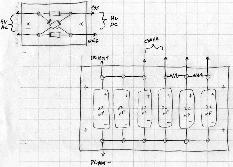 scc et p xfmr measurements  cad layout  chassis work  board building