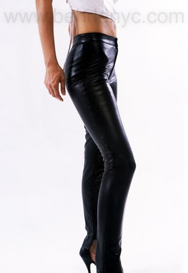 custom leather pants by Behrle NYC
