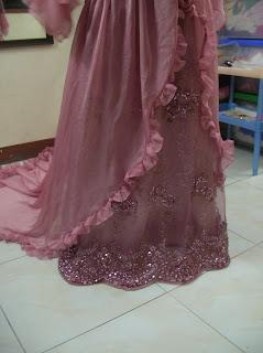 Payet Gaun Pesta: Gaun Pengantin Muslimah aplikasi brok