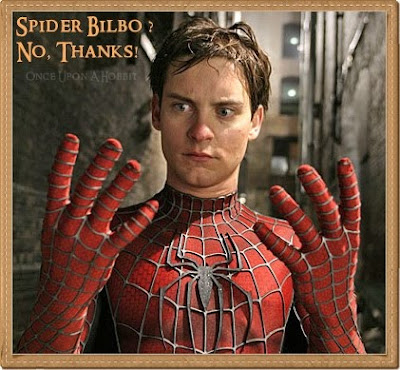 tobey maguire spiderman. Tobey Maguire as Bilbo Baggins
