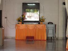 Left side altar in Main Shrine Hall