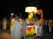 One of floats during Wesak procession