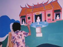 Mudital Home wall mural