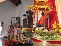 In the Main Shrine Hall