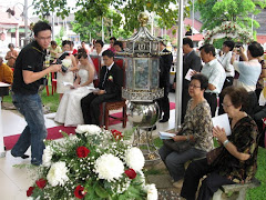 The 1st wedding ceremony at the Bodhi Tree area