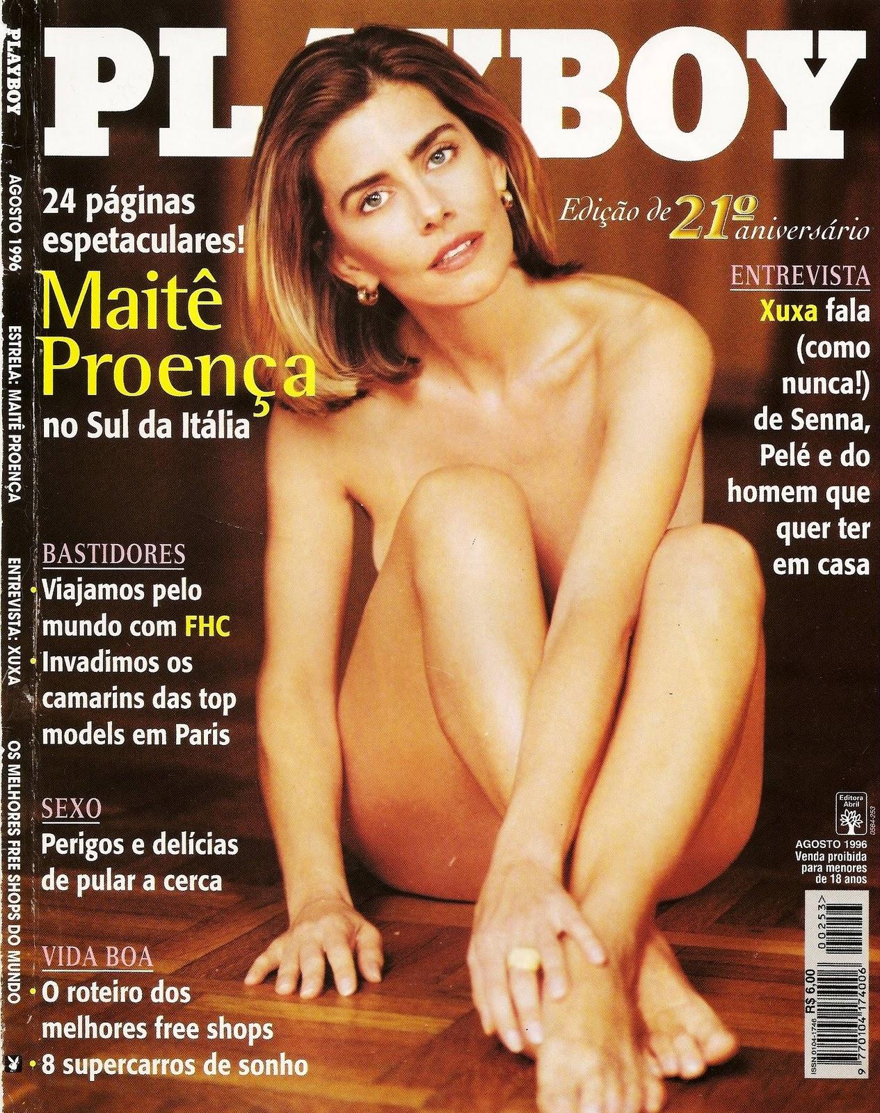 Revista Playboy (Edição de 21°Aniversário) Agosto 1996