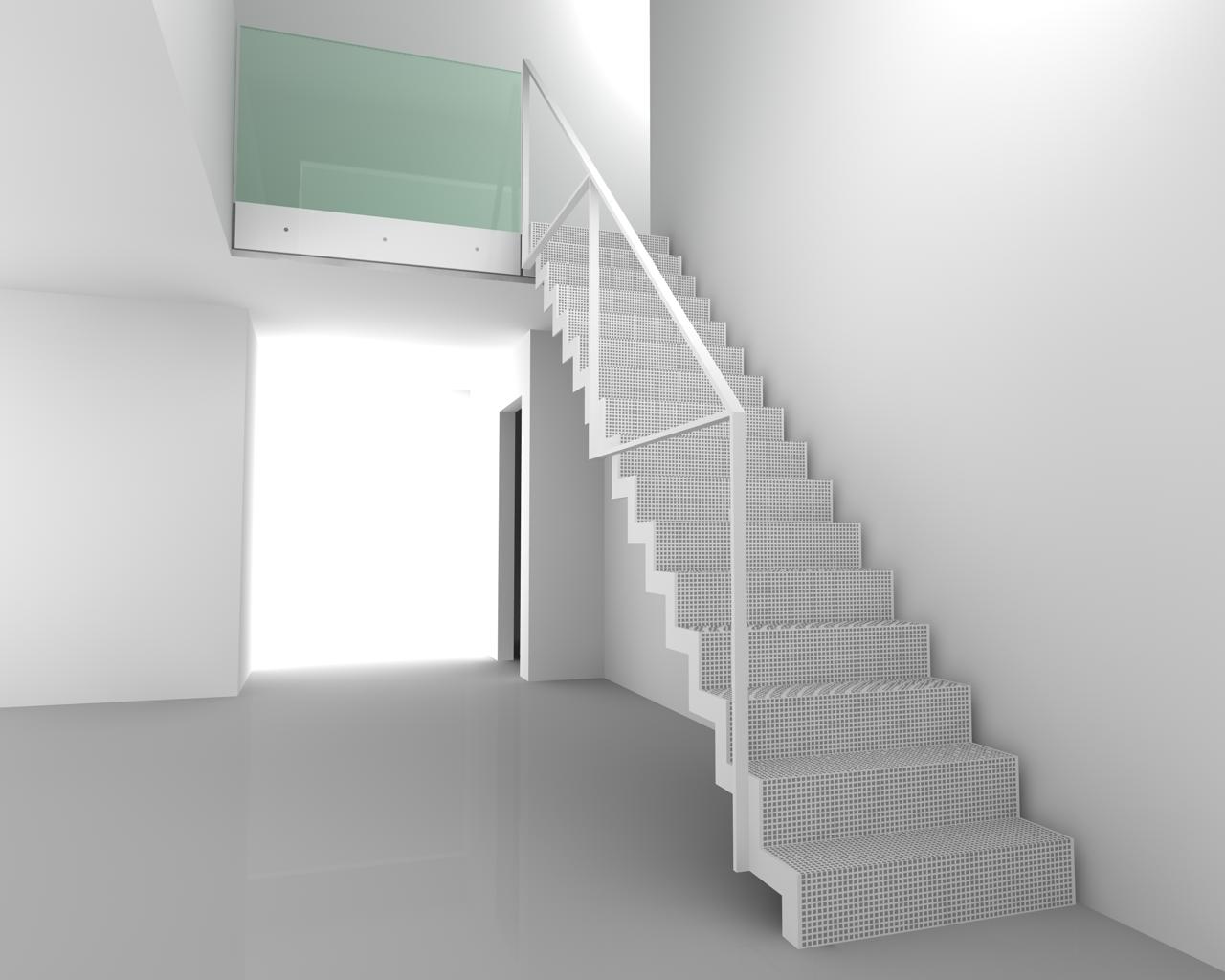 Ons toekomstige huis ontwerp voor de trap - Trap ontwerpen ...