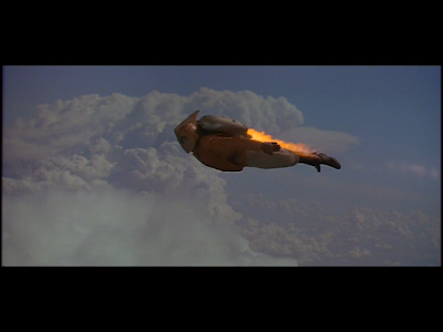 Rocketeer 1991 flying