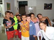 Crianças queridas no CEAK