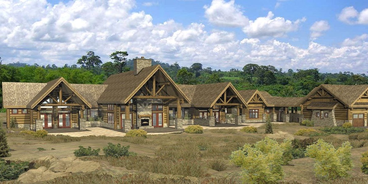 Log home floor plans by wisconsin log homes inc bowen ranch log home plan by wisconsin log homes - Design homes wi ...