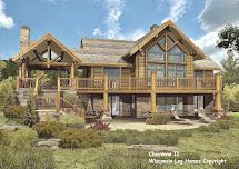 Wisconsin Log Homes Floor Plans