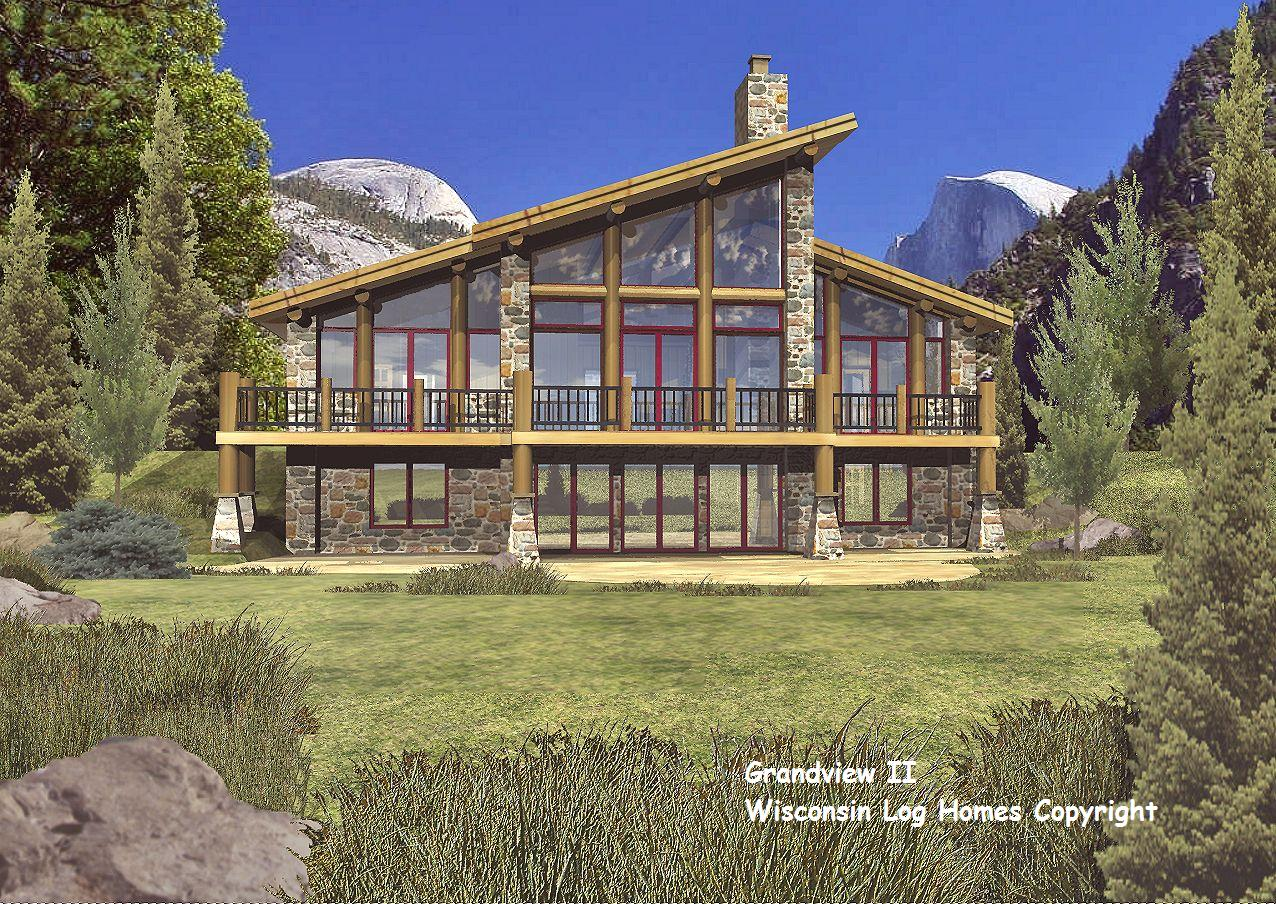 Wisconsin Log Homes Floor Plans