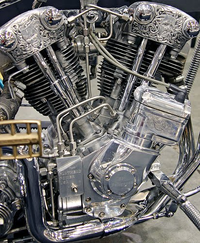 b b inc motorcycles  u0026 art  engraved h