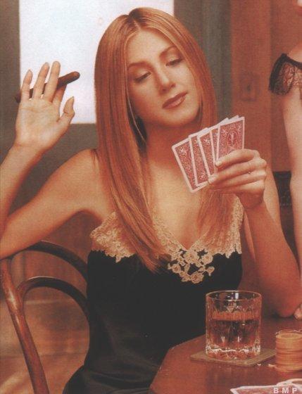 famous people smoking cigarettes: Jennifer Aniston