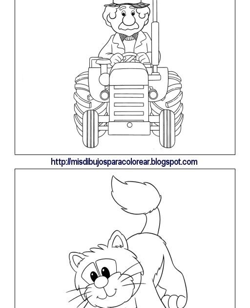 Dibujos de Pat el cartero (5ª parte) : Mis dibujos para colorear