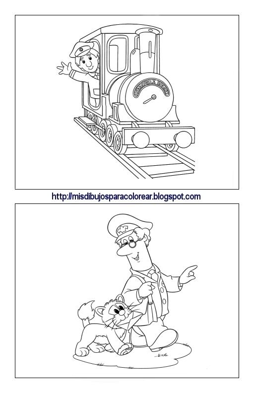 Dibujos De Pat El Cartero 4ª Parte Mis Dibujos Para