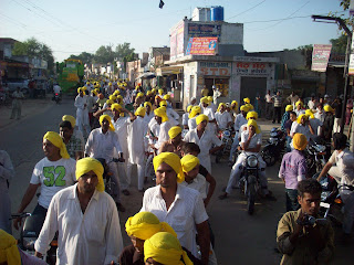Shaheed Bhagat Singh birthday celebration's march, Moga