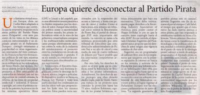 Diario Miradas al Sur, pag. 18, 30/08/09