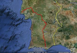 LaL 2010 com Scooters por companhia Mapa+etapa1
